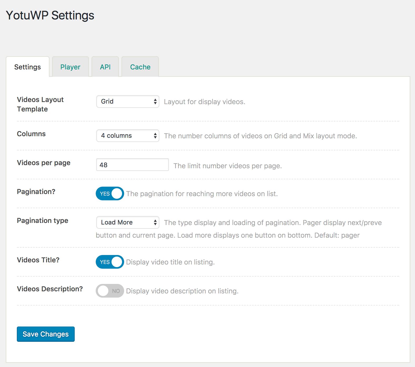 Document - YotuWP Easy YouTube Embed