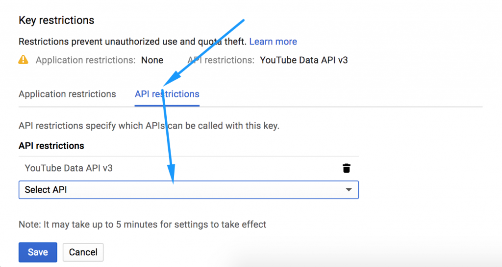How to get YouTube API key - YotuWP Easy YouTube Embed