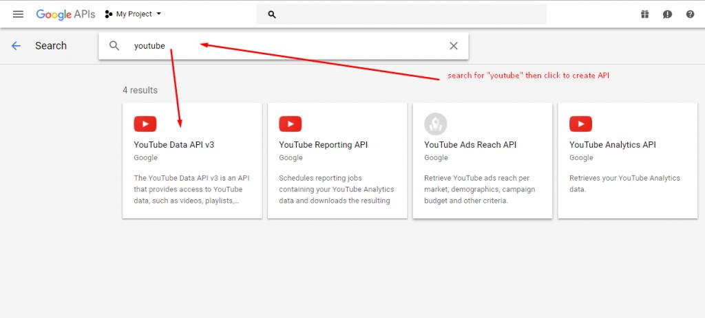 How to get YouTube API key - YotuWP Easy YouTube Embed