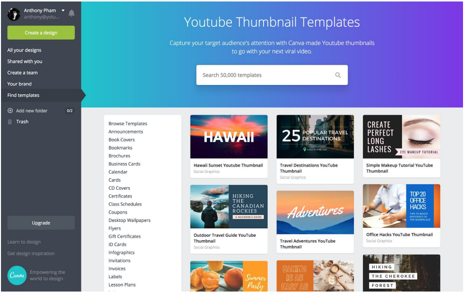Best tools for creating YouTube video thumbnail - YotuWP