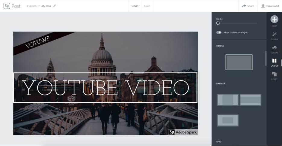 ea9006b2 I really impressed with the speed of Spark. All action respond immediately.  There are many layouts for a YouTube thumbnail template, you can try to  switch ...