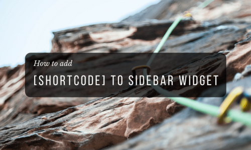 add-shortcode-widget