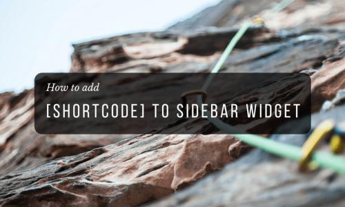 add-shortcode-widget